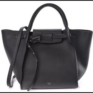 Celine Small Big Bag in Anthracite